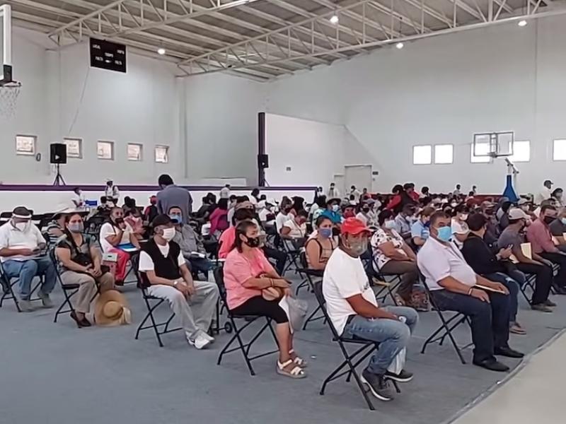 Esta semana se cubrirá el 50% de municipios inmunizados