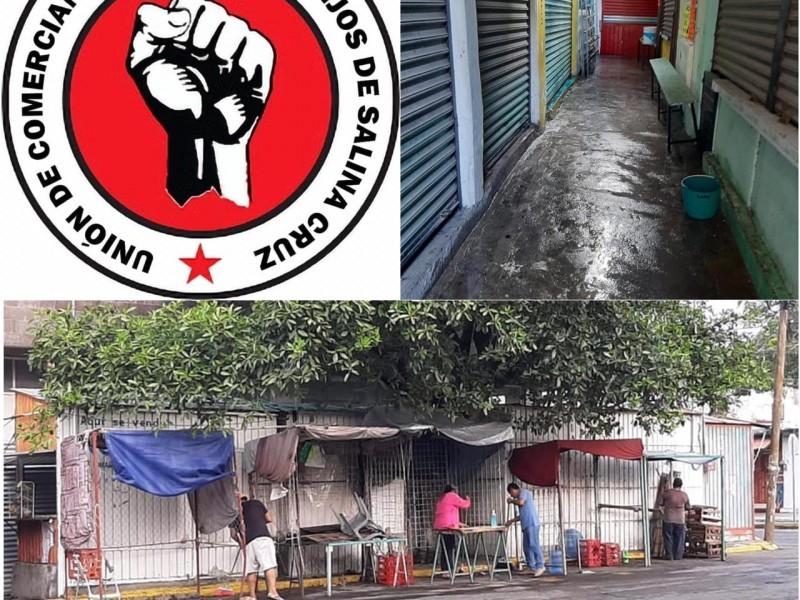 Establecen horarios en comercios y mercado en Salina Cruz