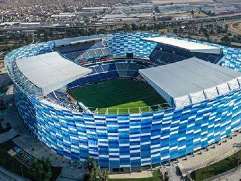 Estadio Cuauhtémoc podría recibir a afición con 50% de aforo