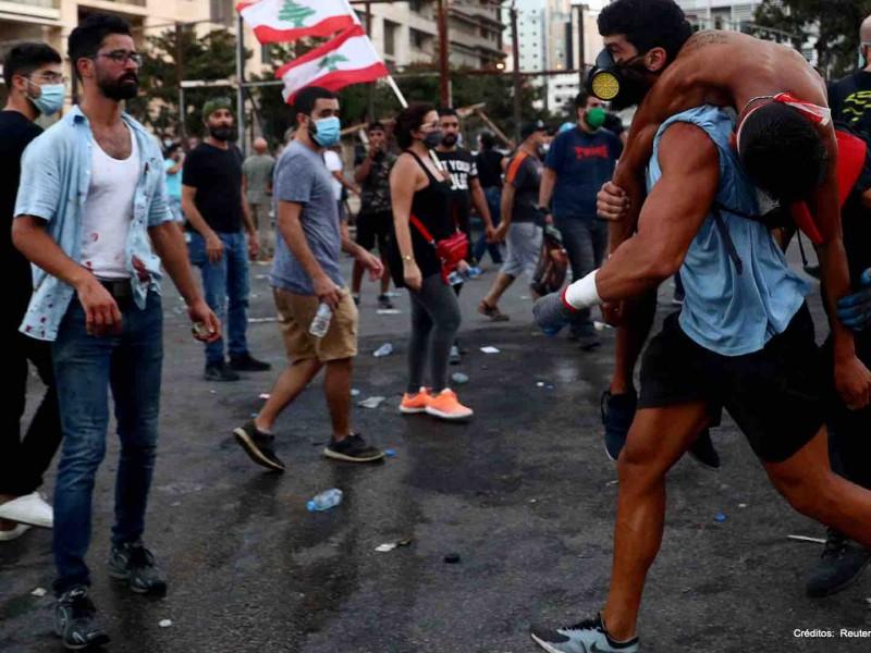 Estados Unidos apoya manifestaciones en Beirut