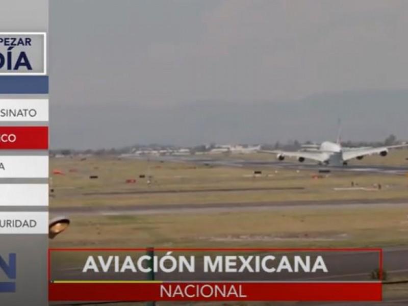 Estados Unidos baja la calificación de la seguridad aérea mexicana