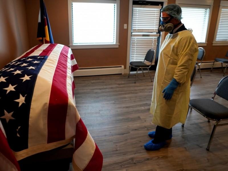 Estados Unidos prevé 90 mil decesos Covid-19 para febrero