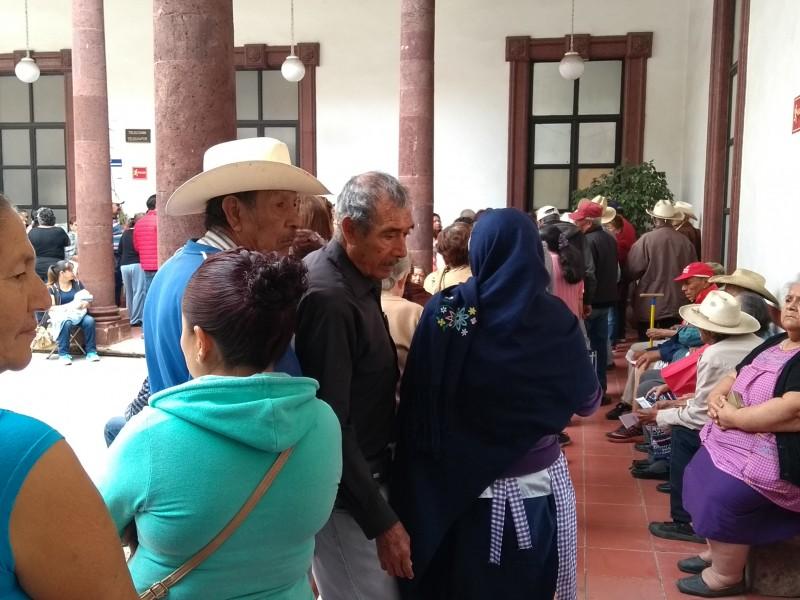 Estafan a adultos mayores en Zamora