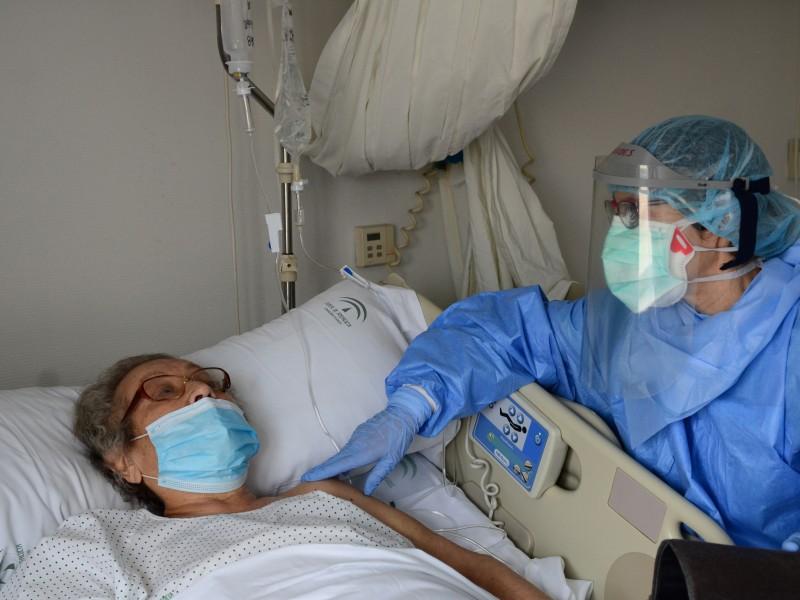 Están por rebasar el número de camas para pacientes COVID