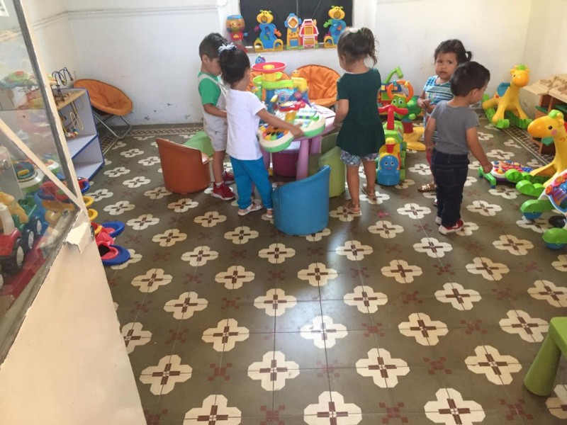 Estancias infantiles impactadas por retiro de subsidio federal