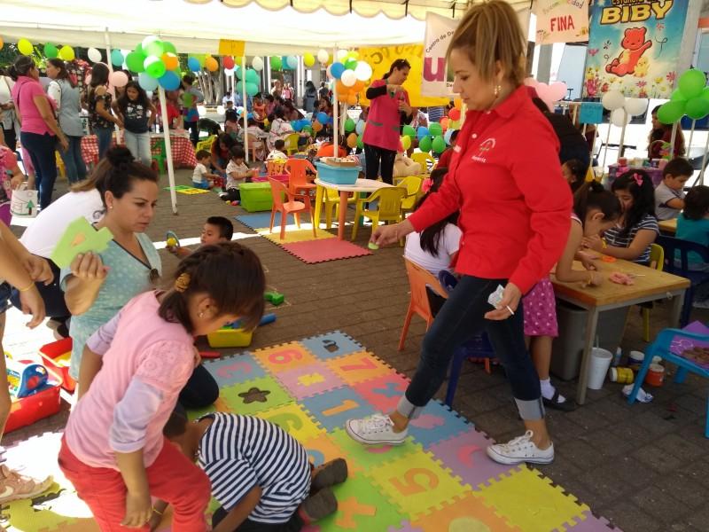 Estancias infantiles realizan demostración de sus actividades
