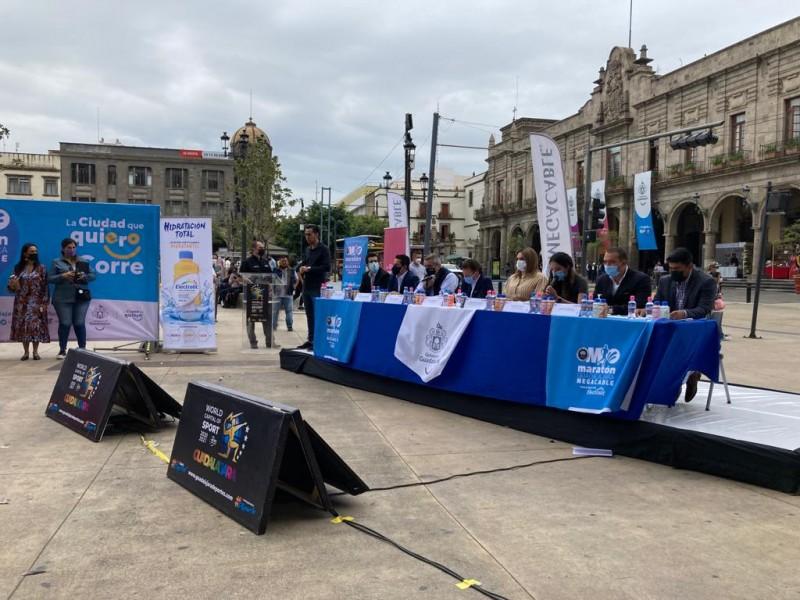 Este año el Maratón Guadalajara Megacable regresa de manera presencial