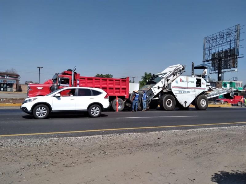 Este fin de semana concluyen obras en carretera a Chapala
