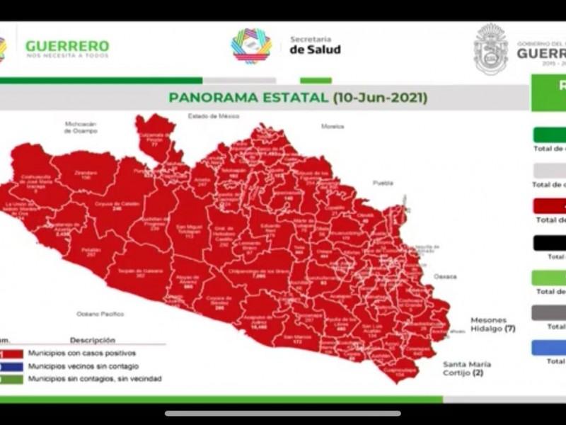 Este jueves 20 nuevos contagios COVID19 en Guerrero