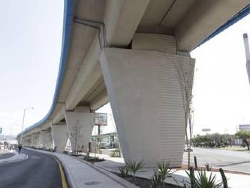 Este jueves abrirán circulación en la parte superior del viaducto