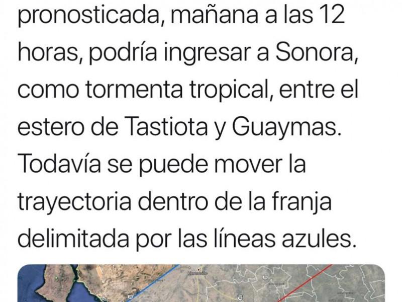 Este jueves podría ingresar Sergio a Sonora