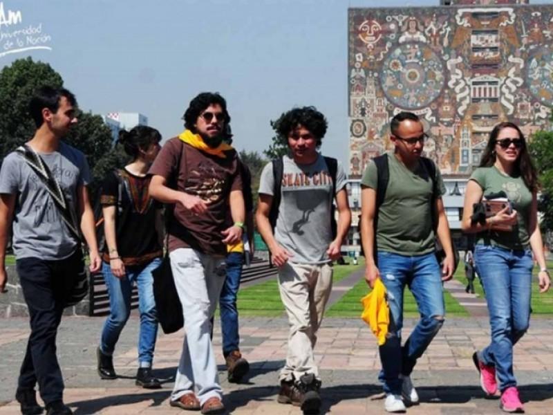 Este lunes regresan a clases alumnos de UNAM