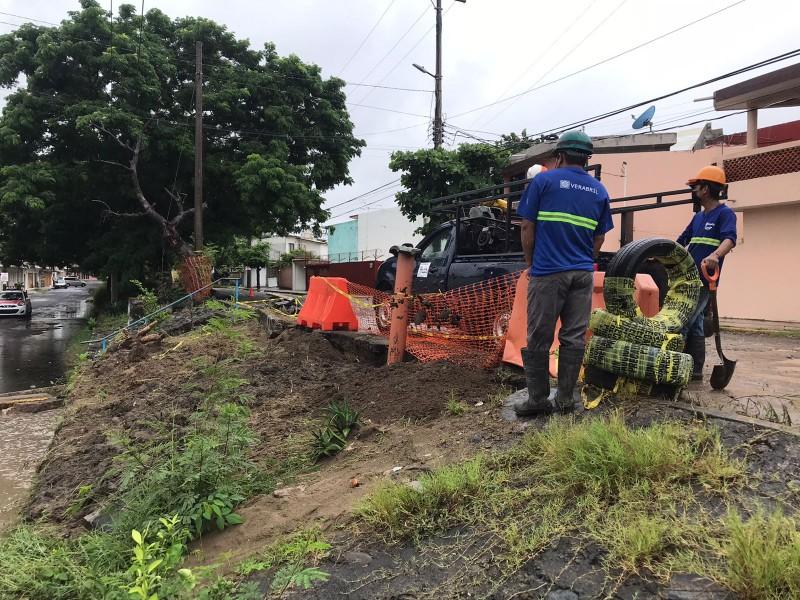 Este martes habrá cierres parciales por reparaciones en Veracruz