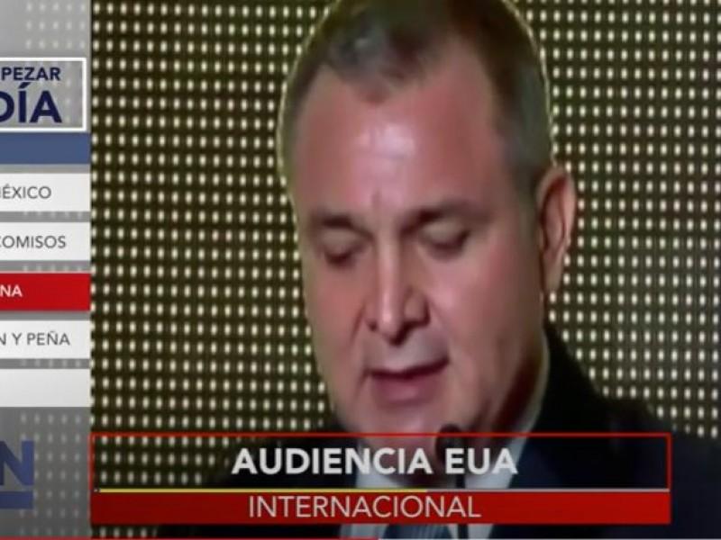 Este miércoles habrá audiencia en contra de Genaro García Luna