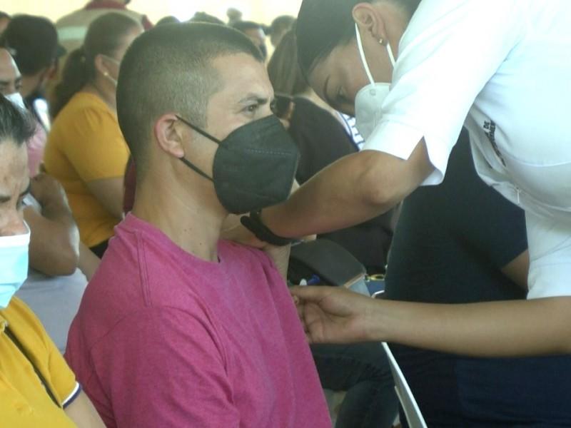 Este miércoles inicia vacunación para mayores de 30 en Ahome