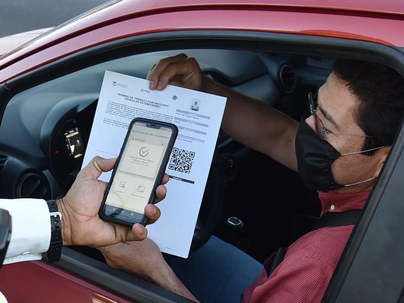 Este viernes empezarán a multar a conductores sin salvoconducto