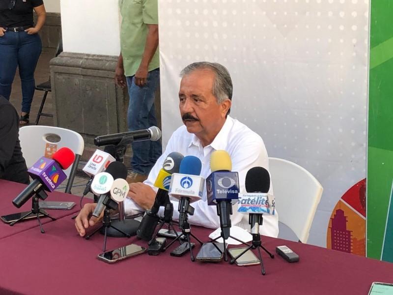Estrada Ferreiro anuncia su reelección como alcalde de Culiacán