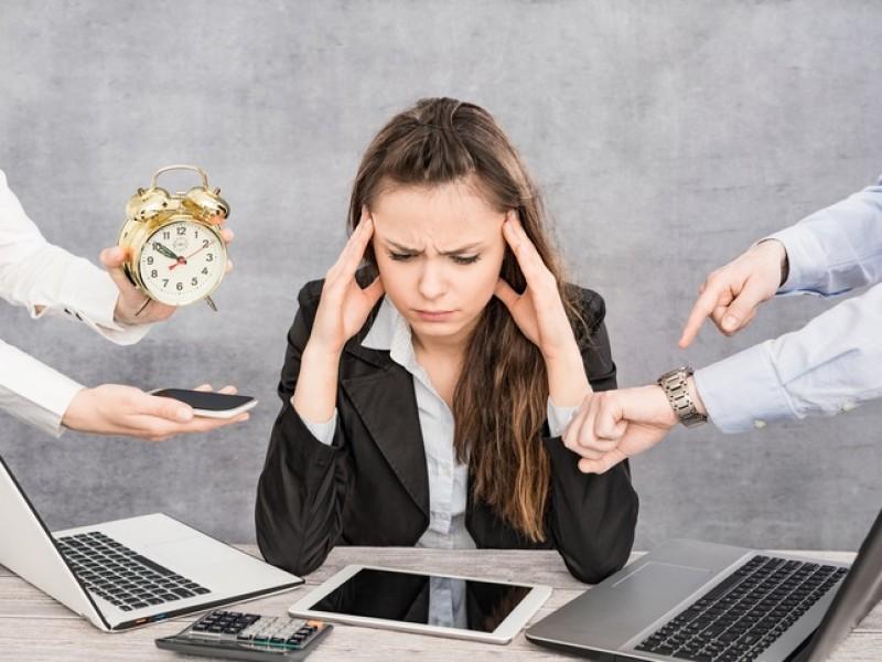 Estrés laboral afecta a la salud