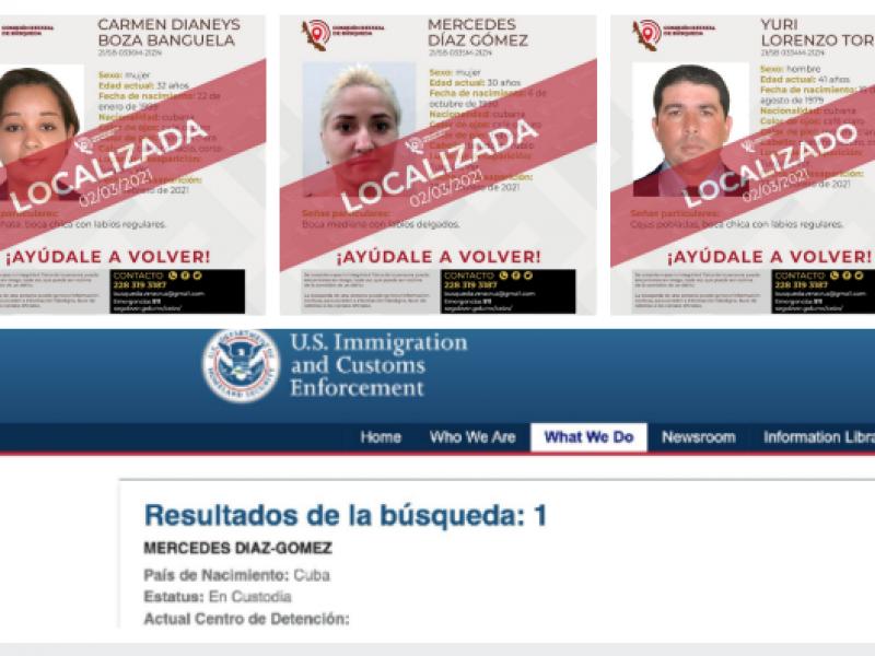 Estudiantes cubanos  están detenidos en los Estados Unidos