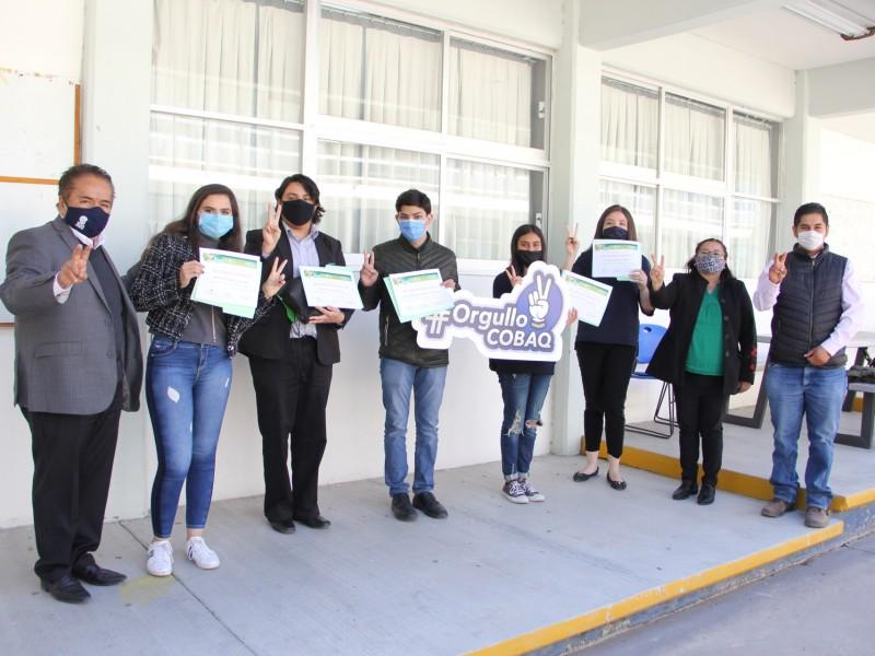 Estudiantes del COBAQ participarán la Olimpiada Nacional de Biología 2020