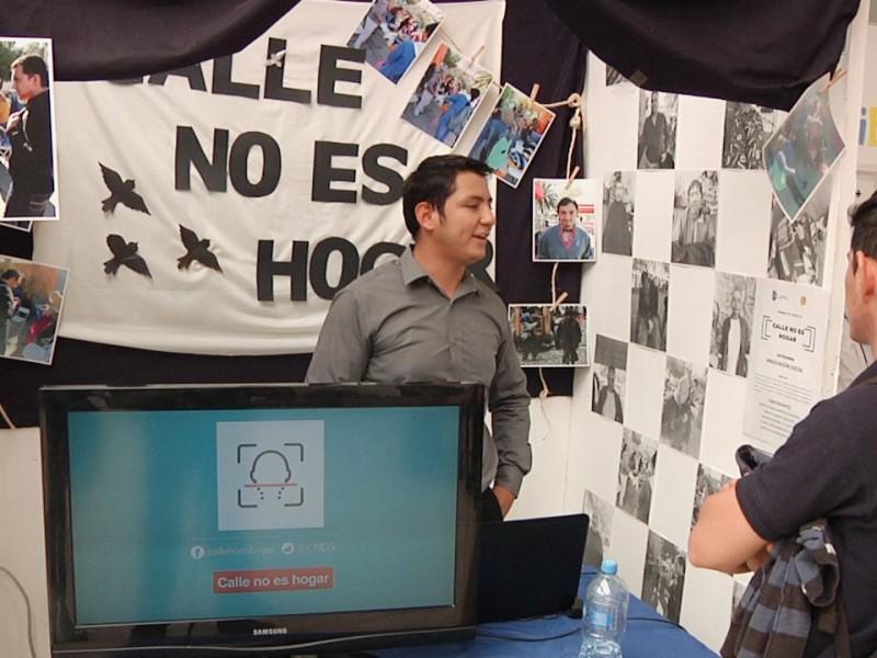 Estudiantes desarrollan aplicación para buscar familiares de indigentes