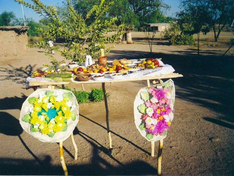 Etnia Yaqui se prepara para Día de Muertos