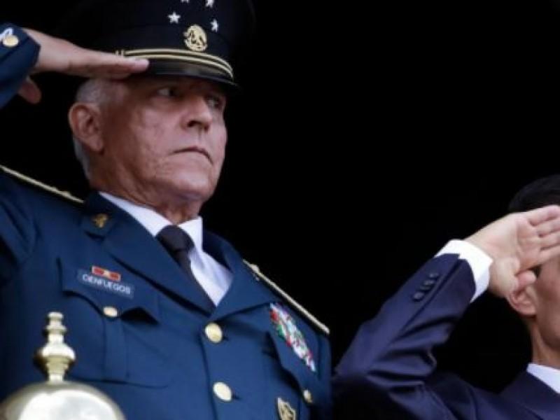 EU acusa a Cienfuegos de proteger a cártel del