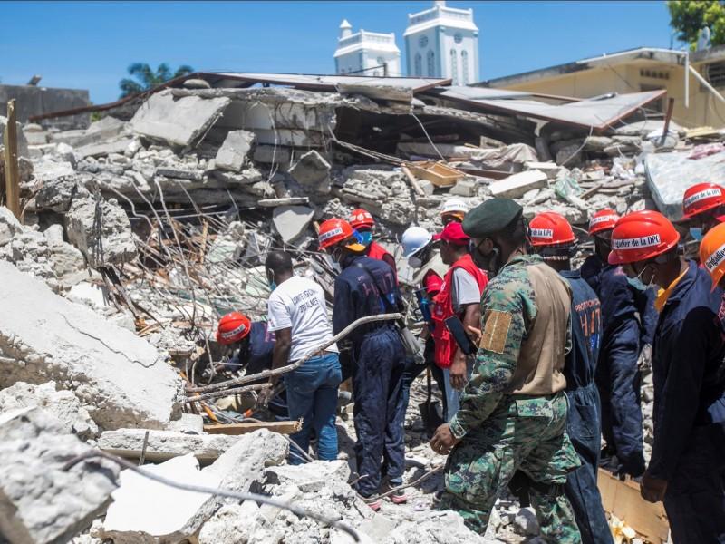 EU envía equipo de rescate a Haití para buscar desaparecidos