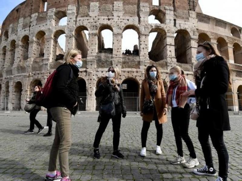 EU llama a evitar viajes a Italia por Covid-19