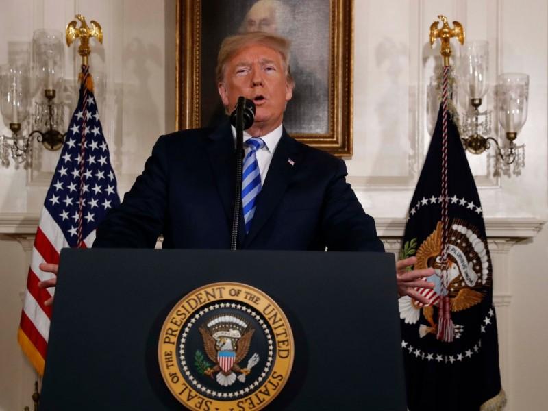 EUA se retira de acuerdo nuclear con Irán