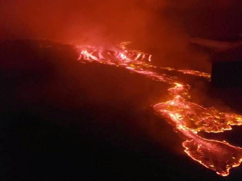 Evacuan 400 mil personas por erupción volcánica en el Congo