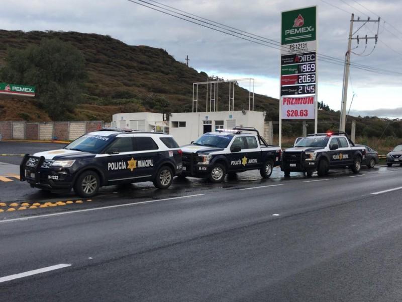 Evitan robo de vehículo en fundadores