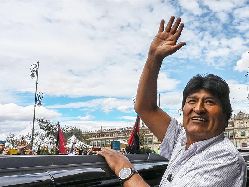Evo Morales deja México y viaja a Cuba