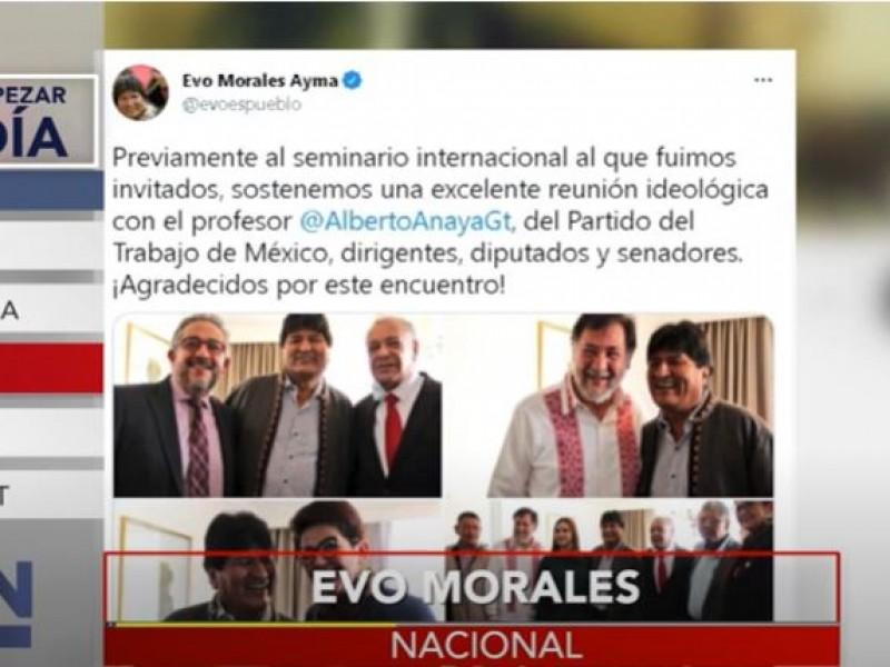 Evo Morales regresa a México