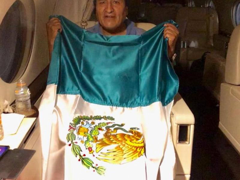 Evo Morales viaja