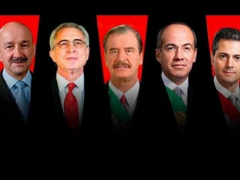 Ex presidentes no deben quedar impunes: grupo de ciudadanos