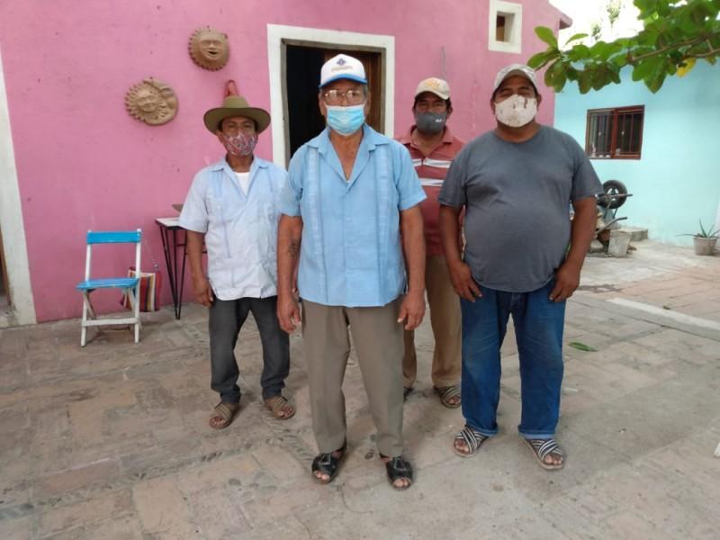Ex salineros demandan finiquito por antigüedad laboral