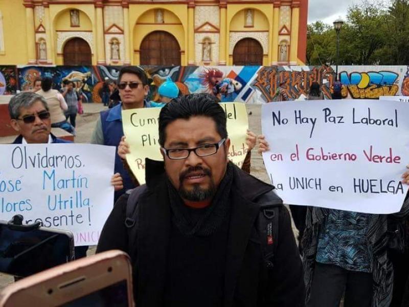 Ex trabajadores de la UNICH realizarán protesta