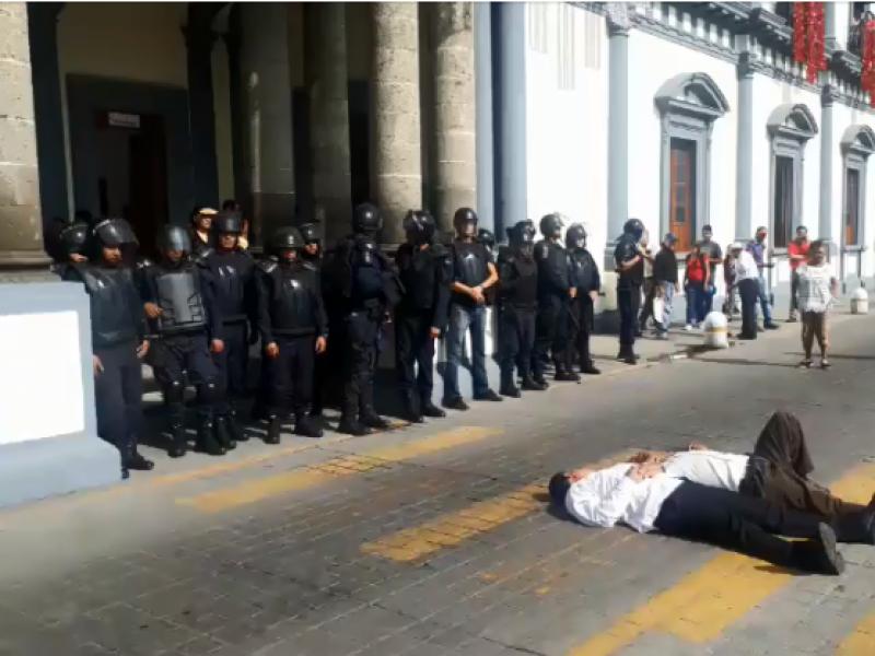 Excesivo el uso de fuerza durante manifestaciones: CDDH