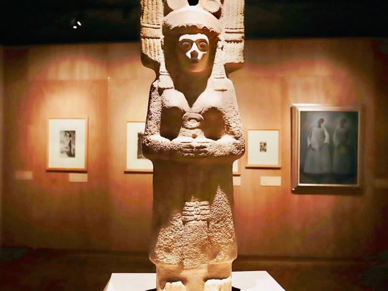 Exhiben diosa alamense en exposición nacional