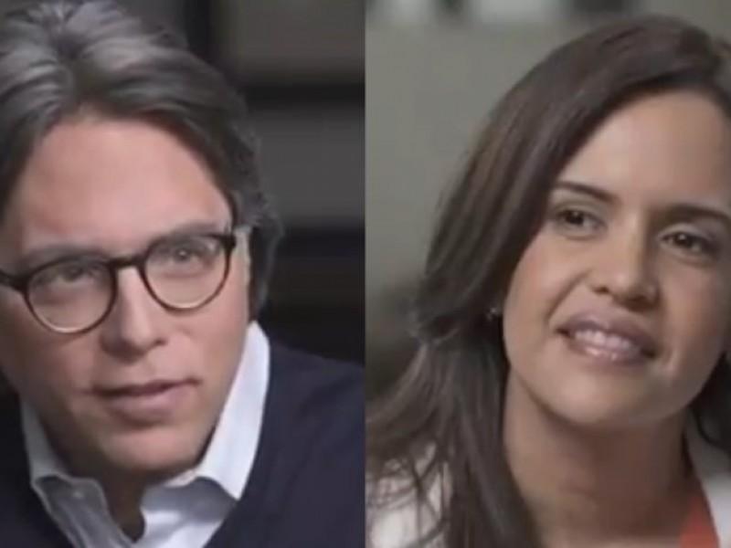 Exhiben entrevista de Clara Luz Flores con líder de NXIVM