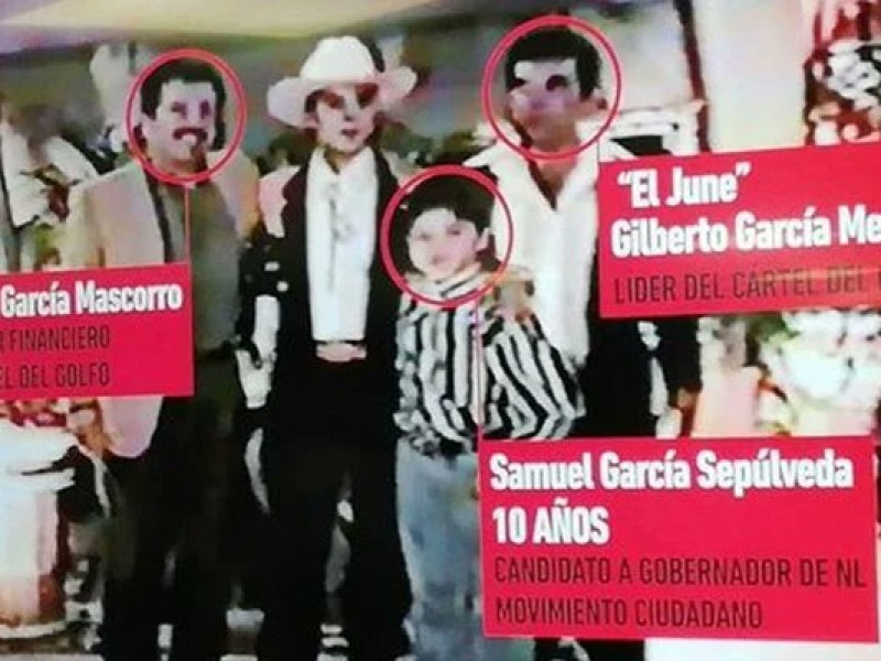 Vinculan a Samuel García y familia con Cártel