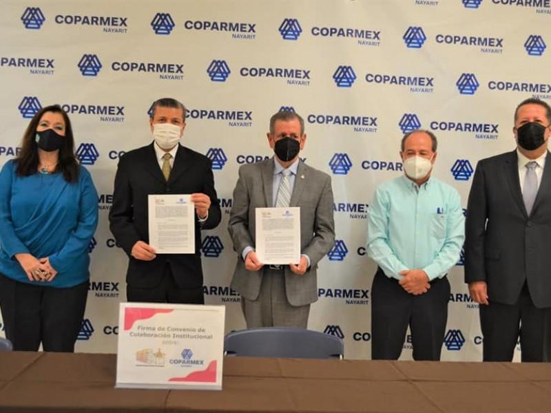 Exhorta COPARMEX a candidatos a respetar medidas sanitarias