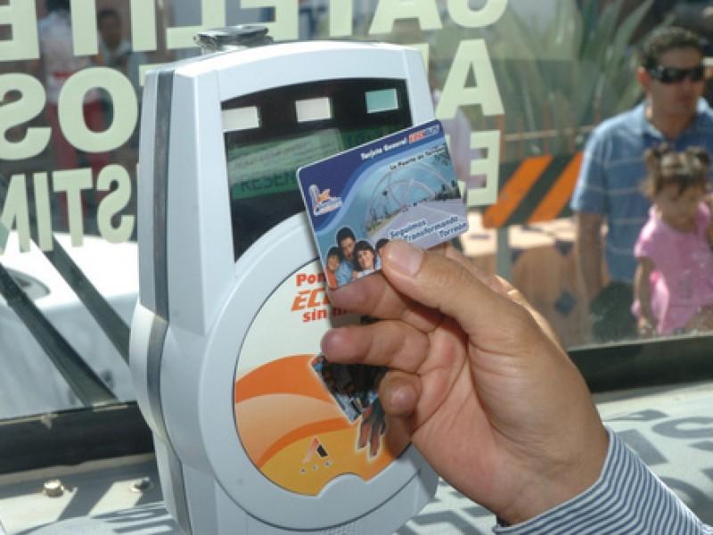 Exhortan a utilizar tarjeta Ecobus