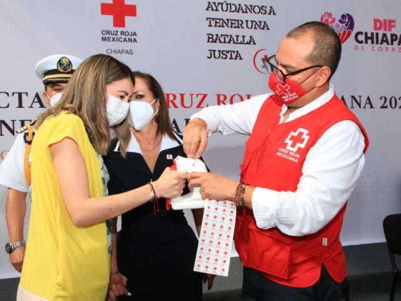 Exhortan autiridades a solidarizarse con la Cruz Roja Mexicana