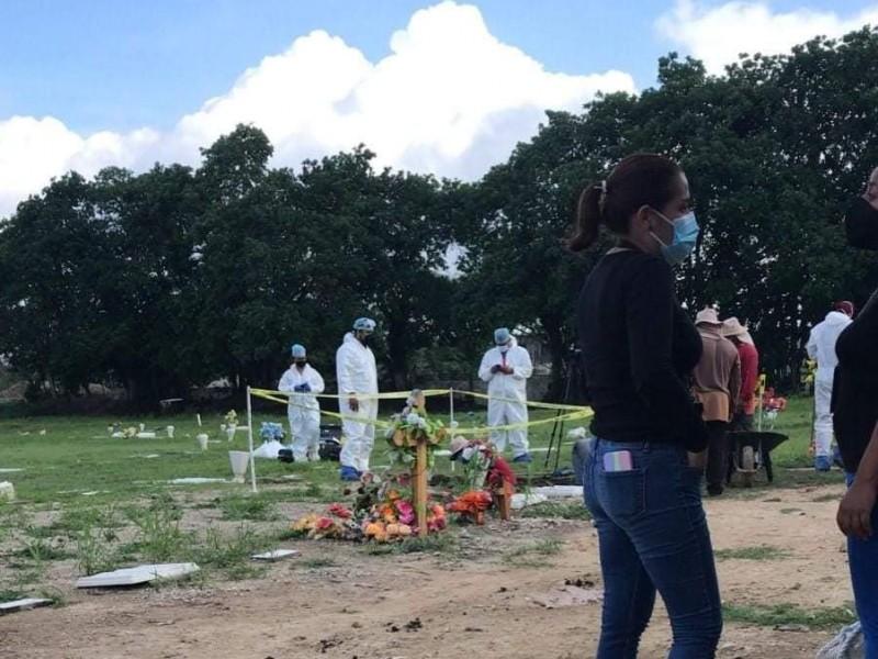 Exhuman restos de Jade, investigarán si fue feminicidio o suicidio