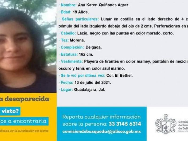 Exige la UdeG localización de estudiante desaparecida