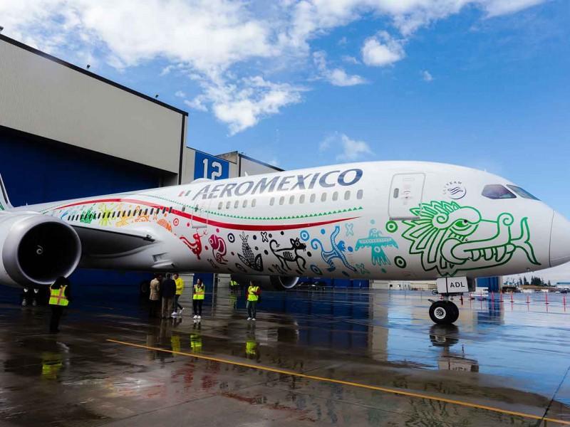 Exigen a Aeroméxico reembolso en efectivo de vuelos cancelados