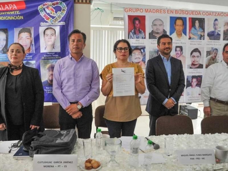 Exigen a candidatos resolver desapariciones en Veracruz
