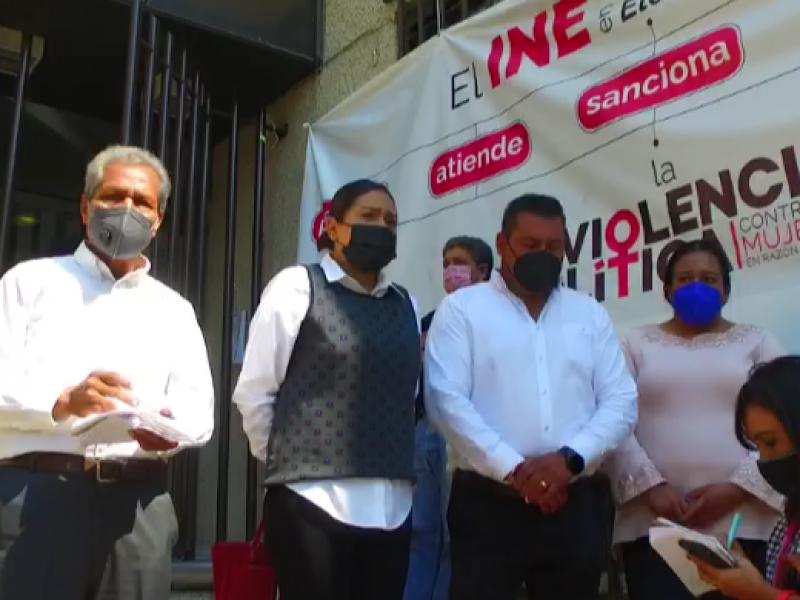 Exigen candidatos de Nahuatzen a INE garantizar instalación casillas